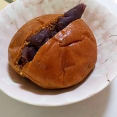 黒糖ロールパンで!おまんじゅう風