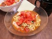 簡単トマトチーズラーメンの写真
