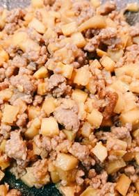 タケノコの肉味噌