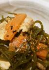 【定番】豚肉と切り昆布の炒め煮