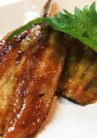 いわしの蒲焼き-甘辛醤油タレ
