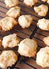 柚子ジャムのドロップクッキー
