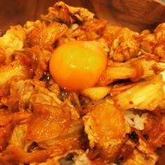 豚キムチ丼