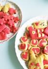食紅で簡単♡かわいいクッキー