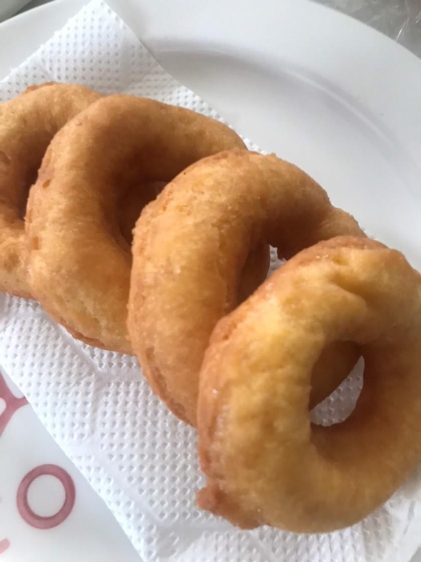 計量カップと大さじだけで作るドーナツ
