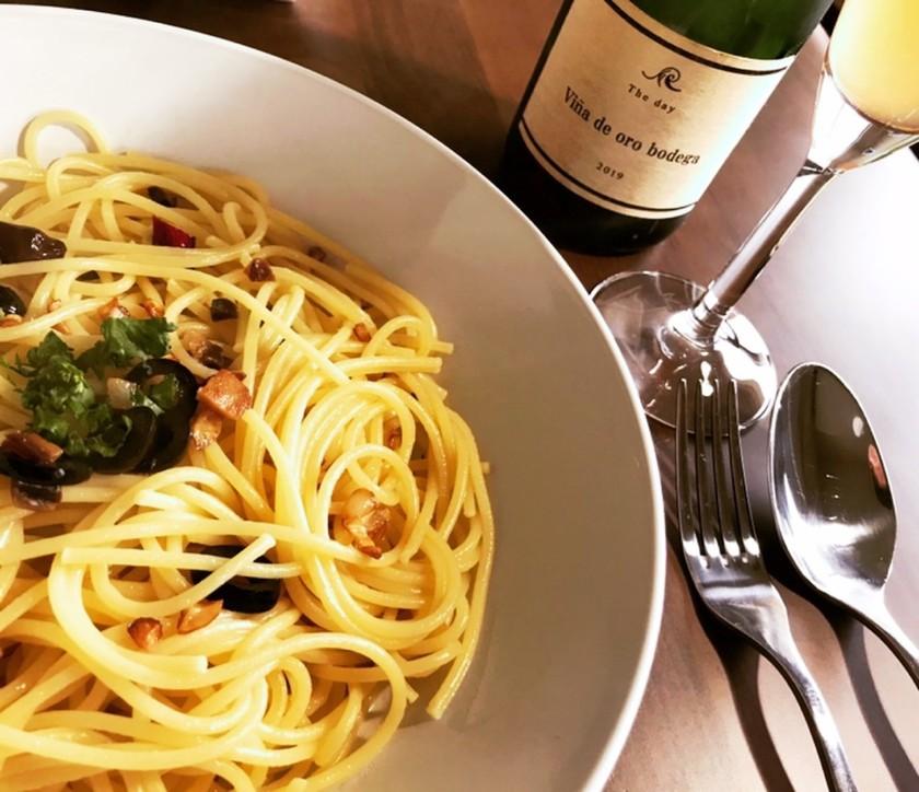 ワインに合う!糠ニシンのペペロンチーノ
