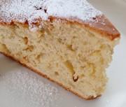 フープロに頼るバナナのケーキの写真