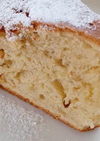 フープロに頼るバナナのケーキ