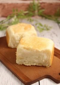 簡単!食パン(白パン)☆強力粉50%