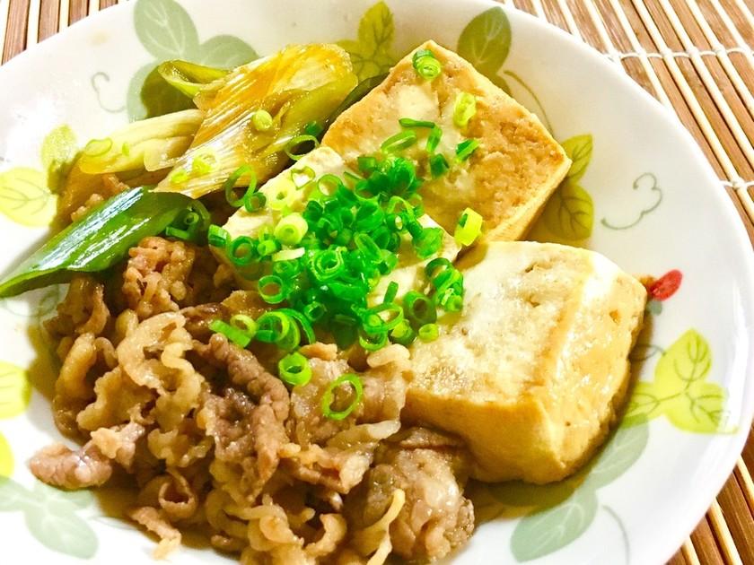 簡単美味しい☆肉豆腐