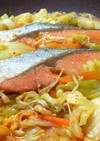 ピリ辛☆鮭のキムチちゃんちゃん焼き