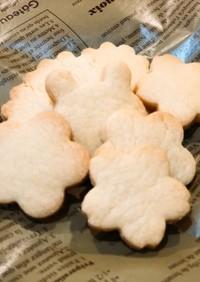 基本のクッキー生地