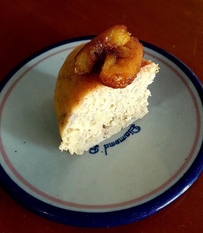 炊飯器で簡単&美味しい!バナナケーキ