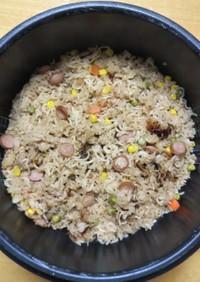 そばめし 簡単 炊飯器