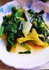 ニラレタスサラダ菜の炒めもの
