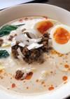 簡単に作れる白胡麻坦々麺
