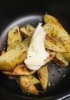 新ジャガのシンプル焼き●塩・胡椒&バター