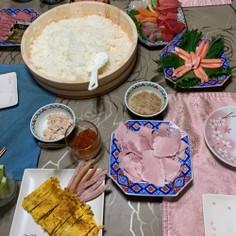 手巻き寿司 パーティー