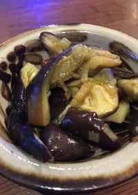 蒸しナスのベトナム風前菜