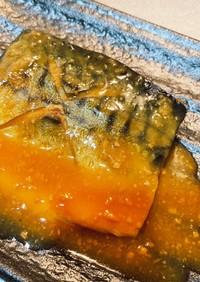 フライパンで超簡単!サバの味噌煮