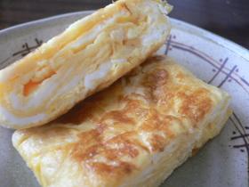 お一人様用~卵一個で~お弁当の厚焼き卵