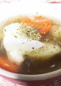 冷凍保存野菜の簡単スープ