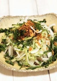 簡単絶品!新タマネギのお豆腐サラダ