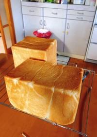 無糖中種70%で作る生食パン