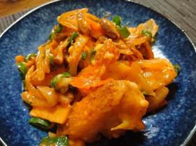赤魚とエリンギのピリ辛チーズ焼き