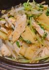 ささみと筍の中華炒め