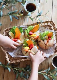 野菜たっぷり♡焼きカレーパン
