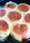 フライパンで薄力粉onlyのパン