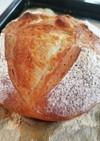 【冷蔵庫発酵!】カンパーニュ風ハードパン