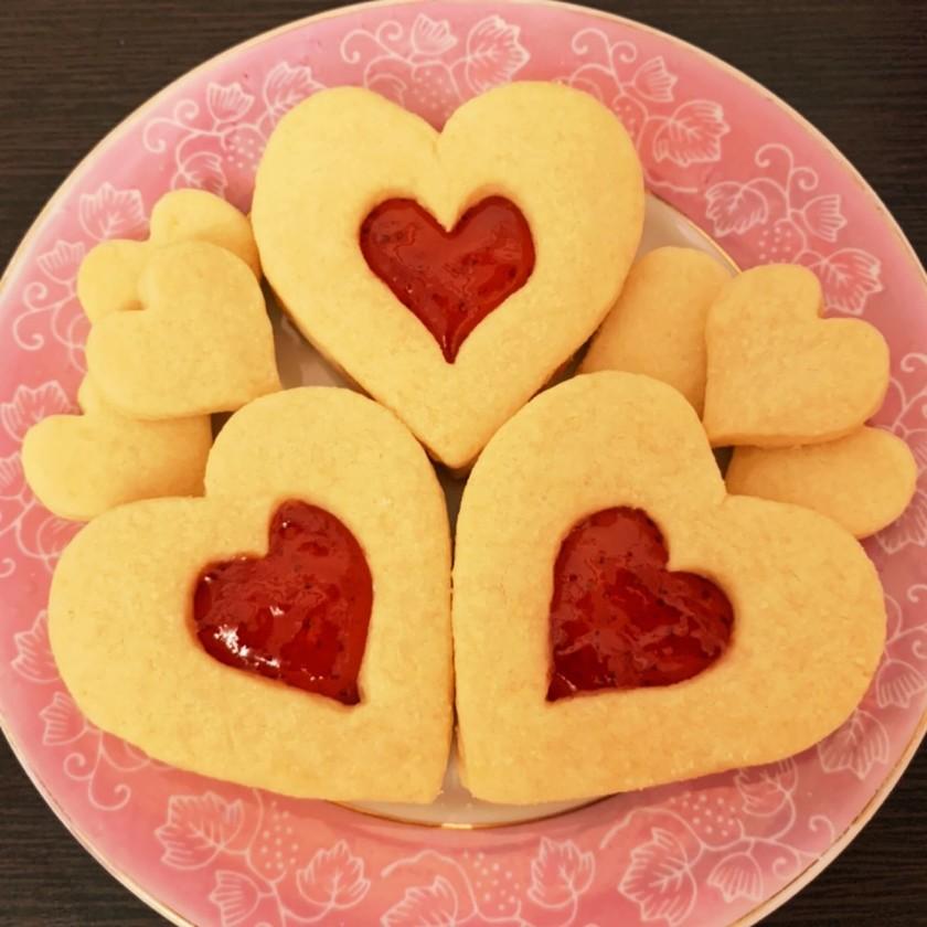 サクサク♡ジャムサンドバタークッキー