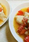 鶏むね肉のコンソメトマト煮
