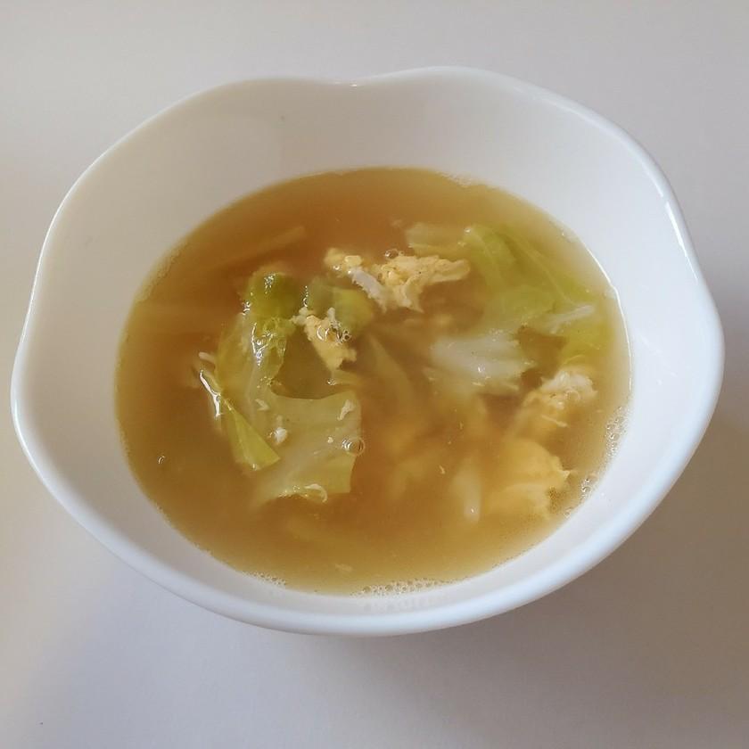 簡単 キャベツと卵のスープ 中華