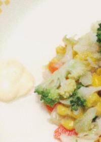 温野菜サラダ ♪大和市学校給食