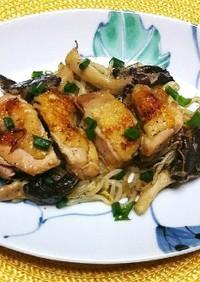 鶏もものスパイス焼き
