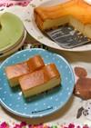 チーズケーキのボトムでカルシウム摂取♪