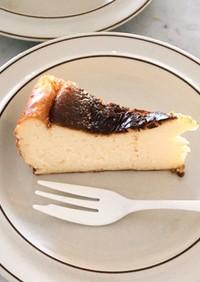 【超簡単】子供と作るバスク風チーズケーキ