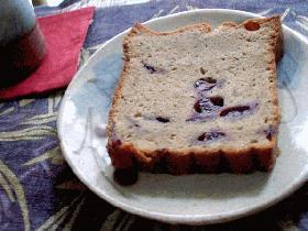 そば粉入り!ブルーベリーパウンドケーキ