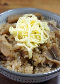 アナゴの炊き込みご飯