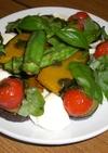 夏野菜のバジルマリネ