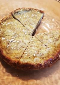 炊飯器バナナケーキ/オートミール入り
