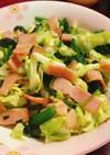 ベーコンと野菜のソテー
