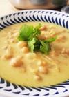 ひよこ豆のココナッツミルクスープ
