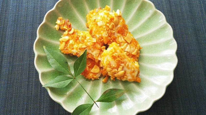食品ロスを減らす❗️鶏肉の柿ピー焼き