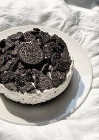 焼かない!簡単オレオチーズケーキ