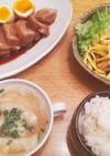 夕飯!白滝とわかめの中華サラダ