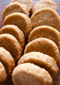 簡単米ぬか入りクッキー